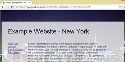 Imagem de Agora você pode publicar sites em HTML pelo Google Drive no site TecMundo