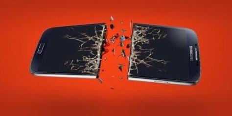 Imagem de Nokia brinca com slogan e quebra Samsung e Android KitKat no site TecMundo
