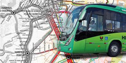 Imagem de Ônibus de Curitiba agora têm o trajeto no Google Maps no site TecMundo