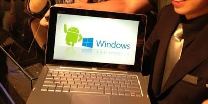 Imagem de ASUS Transformer Book Trio coloca Android e Windows 8 no mesmo dispositivo no site TecMundo