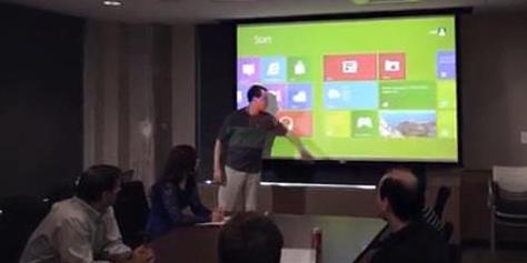 Imagem de Ubi: programa transforma qualquer superfície em tela sensível a toque no site TecMundo