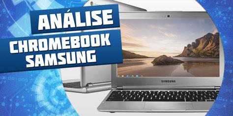 Imagem de Análise: notebook Samsung Chromebook [vídeo] no site TecMundo