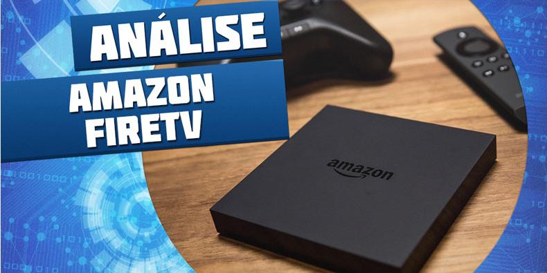 Imagem de Análise: set-top box Amazon Fire TV e Fire TV Controller [vídeo] no site TecMundo
