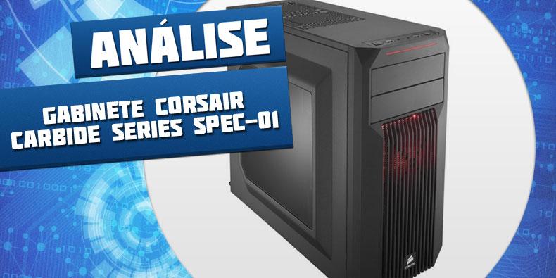 Imagem de Análise: Gabinete Corsair Carbide Series SPEC-01 no site TecMundo