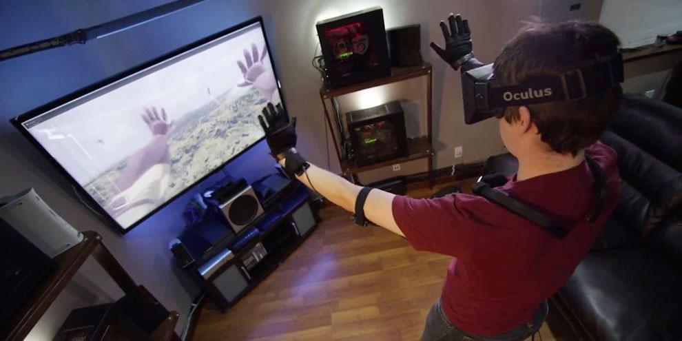 Imagem de Control VR: as luvas de realidade virtual compatíveis com o Oculus Rift no site TecMundo