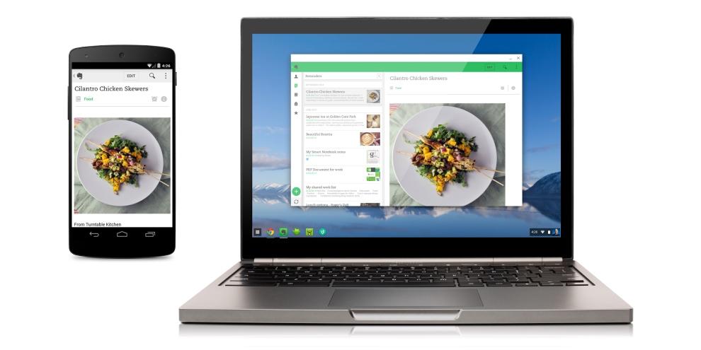 Imagem de Chrome OS agora roda aplicativos de Android no site TecMundo