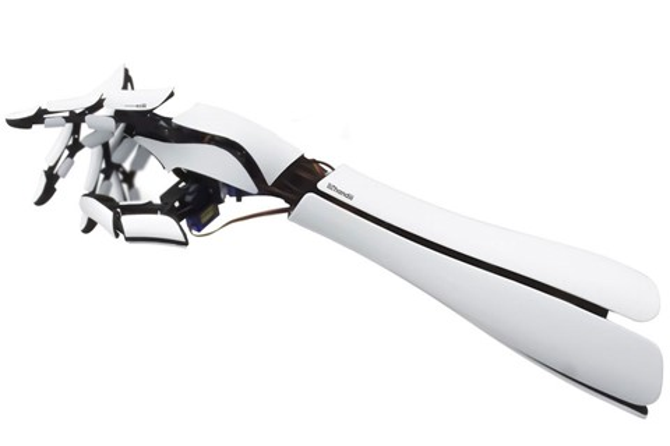 Imagem de Handiii: prótese de braço feita em impressora 3D custa só 300 dólares no site TecMundo
