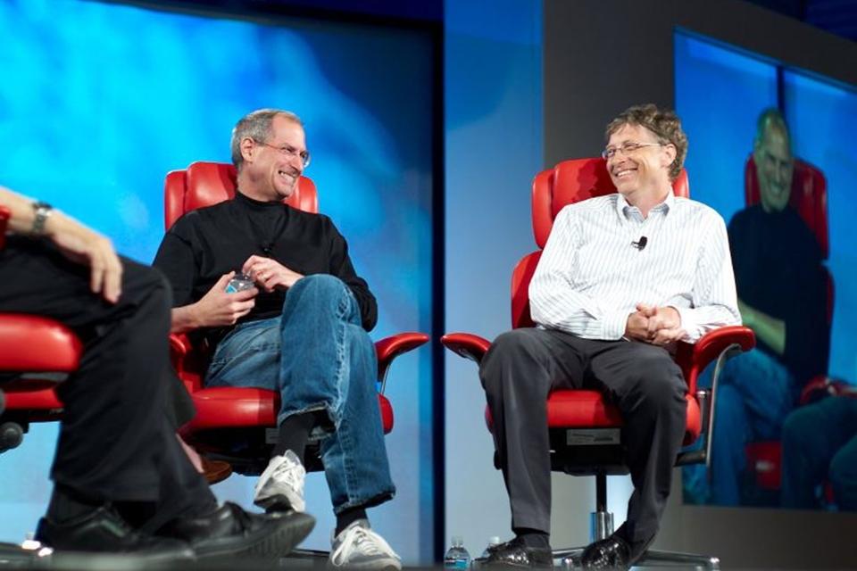 Imagem de 'Eu nunca estive no mesmo nível que Steve Jobs', admite Bill Gates no site TecMundo