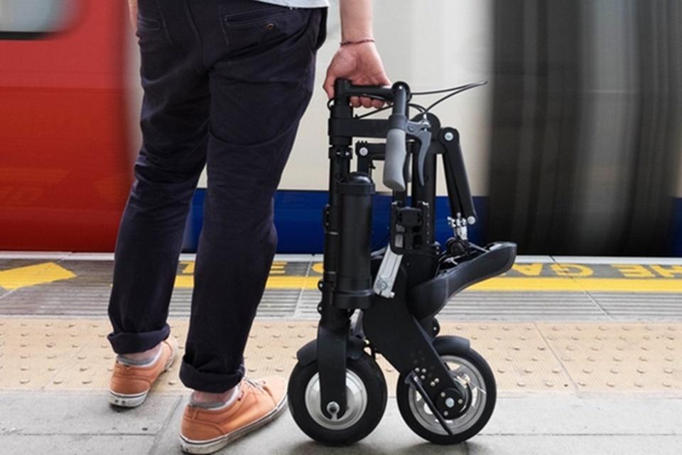 Imagem de A-Bike: conheça a nova bicicleta elétrica dobrável que está no Kickstarter no tecmundo