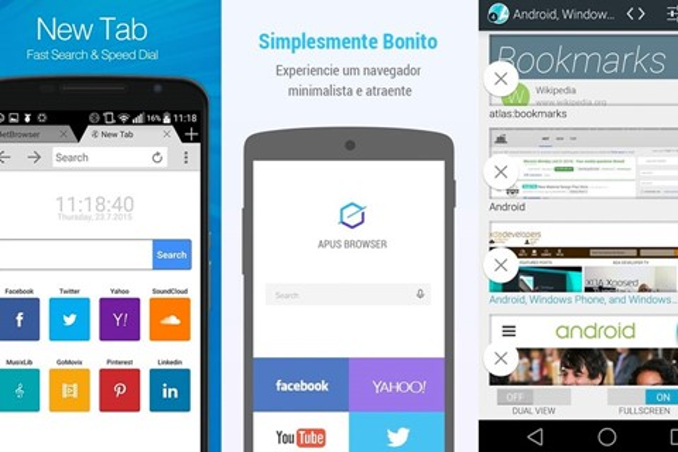 Imagem de Conheça 7 navegadores leves e rápidos para dispositivos móveis com Android no tecmundo