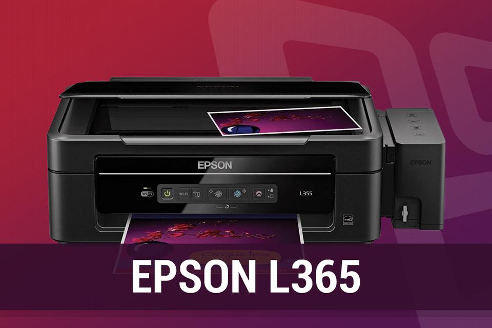 Imagem de Análise: impressora EPSON L365 com Bulk no tecmundo