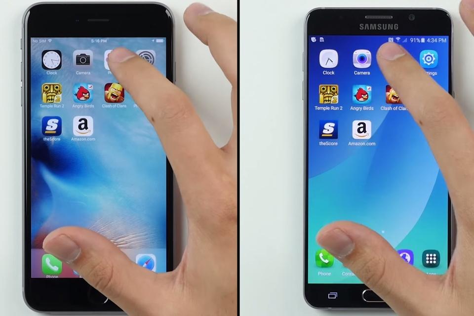 Imagem de Galaxy Note 5 x iPhone 6s Plus: qual se dá melhor no uso cotidiano? [vídeo] no tecmundo