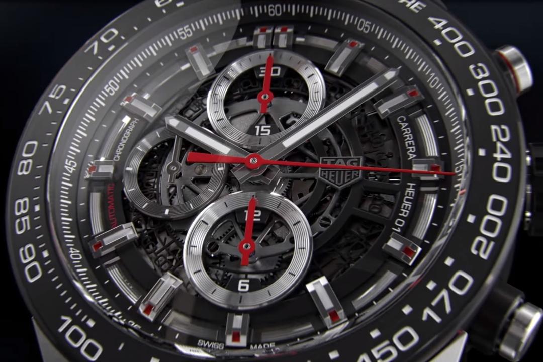 Imagem de Smartwatch da Tag Heuer é lançado hoje nos EUA por US$ 1,5 mil no tecmundo