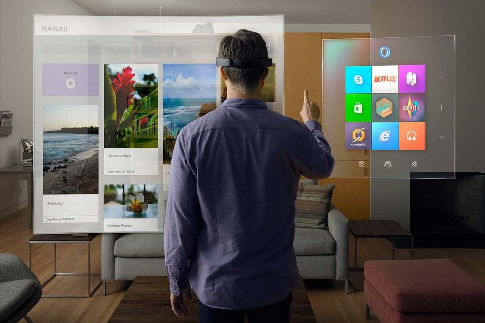 Imagem de HoloLens próximo? Criador afirma que ainda não está na hora no tecmundo