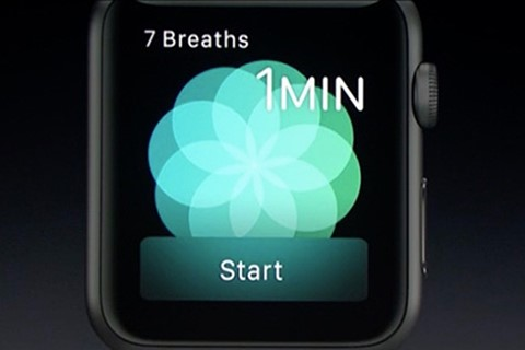 "Imagem de Apple Watch: respire fundo com o novo app ""Breathe"" no tecmundo"