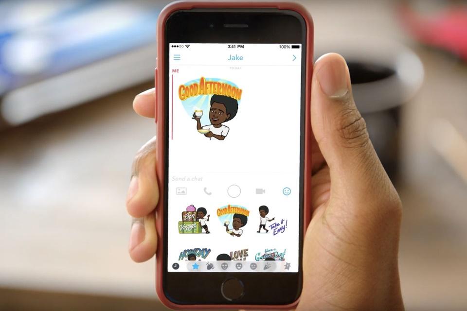 Imagem de Nova cara da diversão: agora você pode usar emojis do Bitmoji no Snapchat no tecmundo