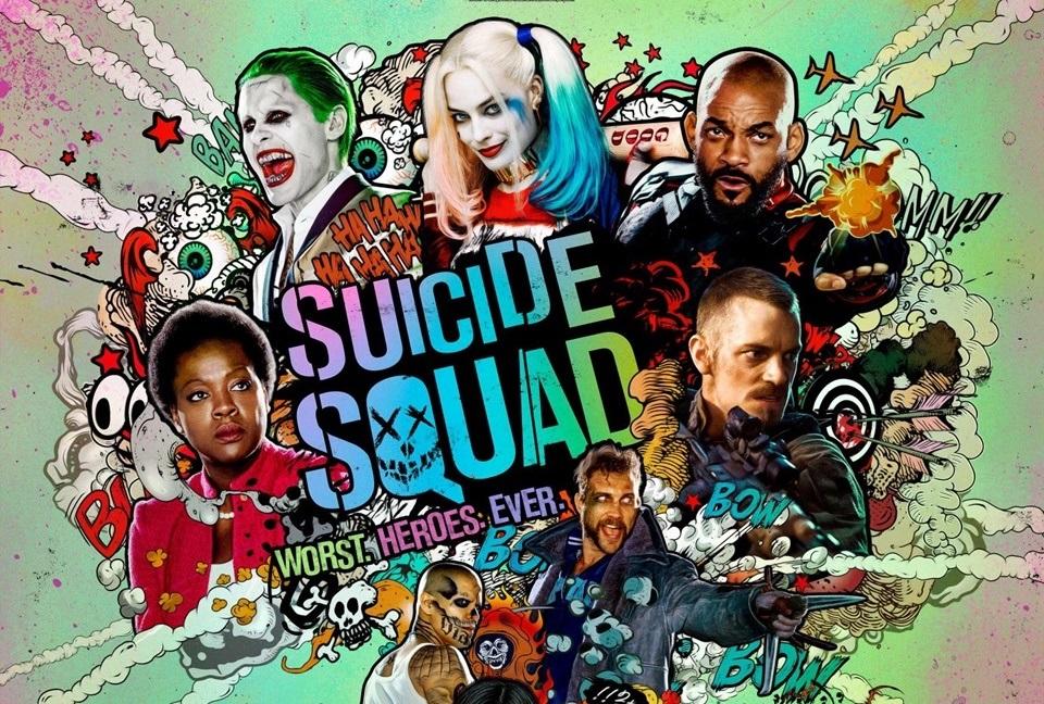 Imagem de Esquadrão Suicida na Comic Con no tecmundo