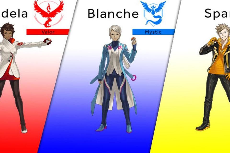 Imagem de Conheça os líderes das três facções de Pokémon GO no tecmundo