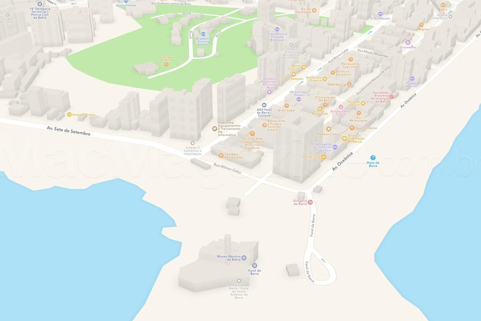 Imagem de Mapas da cidade de Salvador feitos pela Apple ganham recurso tridimensional no tecmundo