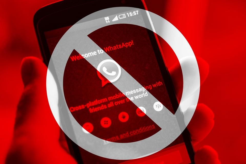 Imagem de Tá de sacanagem?! WhatsApp pode receber novo bloqueio no Brasil em breve no tecmundo
