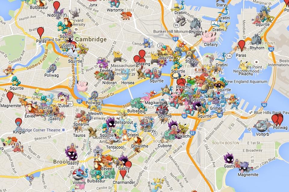 Imagem de Já existem apps de mapas de Pokémon GO burlando as restrições da Niantic no tecmundo