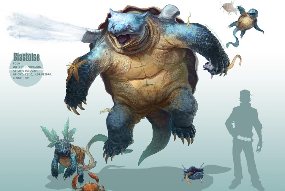 Imagem de Artista cria versões mais realistas de pokémons  no tecmundo