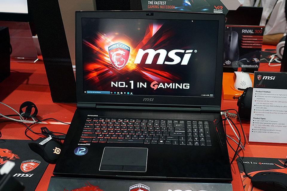 Imagem de Notebook da MSI terá SLI de GTX 1080 com GDDR5X para rodar jogos em 4K no tecmundo