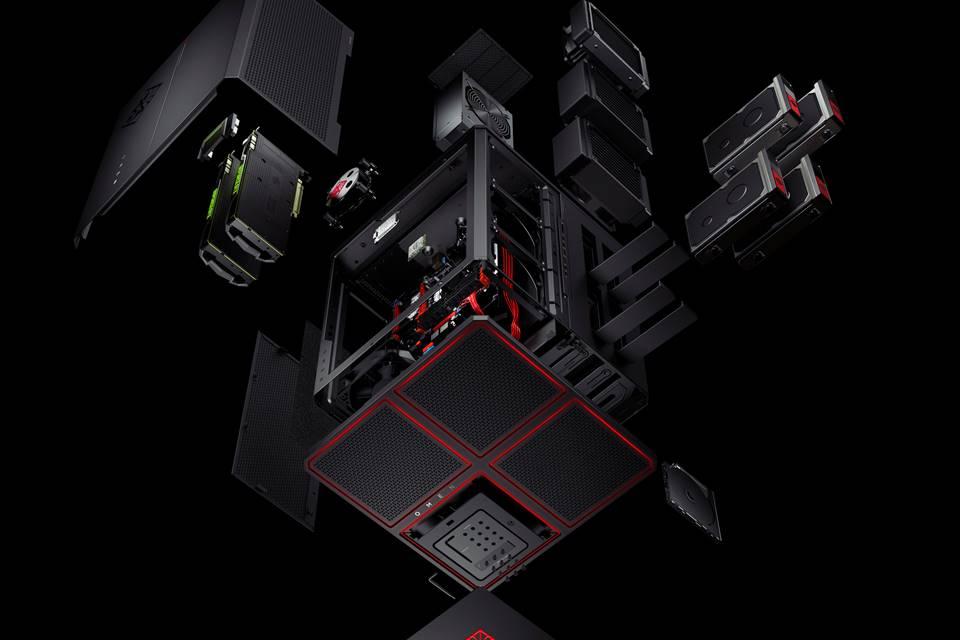 Imagem de Omen X Desktop: novo PC gamer da HP tem o formato de um cubo [vídeo] no tecmundo