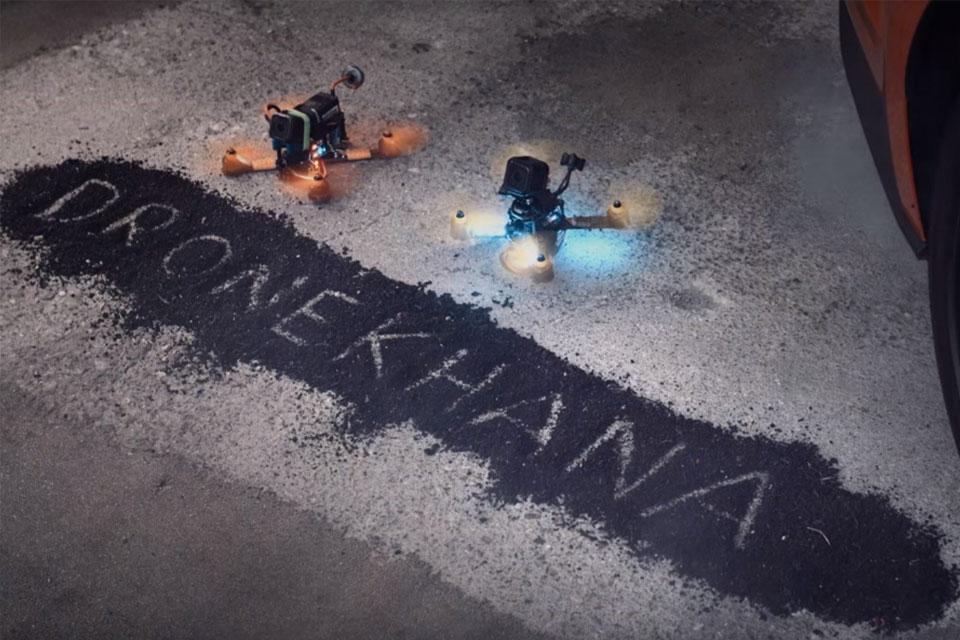 Imagem de Ken Block dos drones: Dronekhana é tão bom quanto a versão com carros no tecmundo