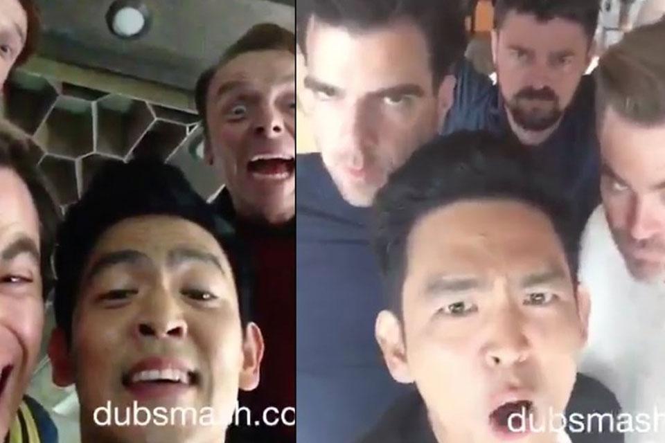Imagem de Humor: elenco de Star Trek Sem Fronteiras em hilários vídeos de Dubsmash  no tecmundo