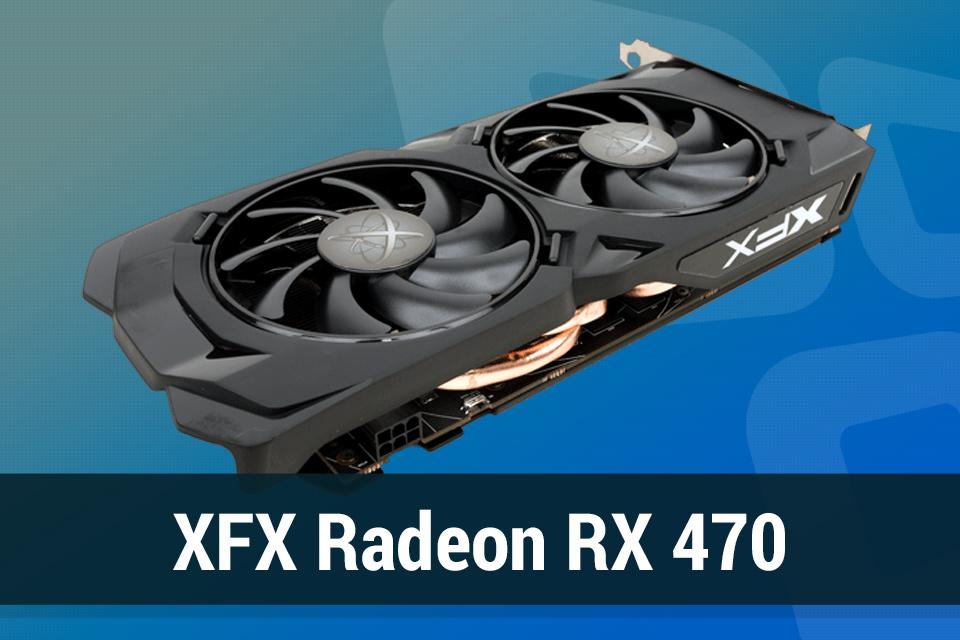 Imagem de Review: placa de vídeo XFX Radeon RX 470 Black Edition no tecmundo