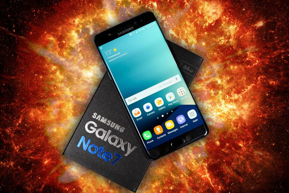 Imagem de Samsung anuncia recall do Galaxy Note 7 e suspende as vendas após explosões no tecmundo