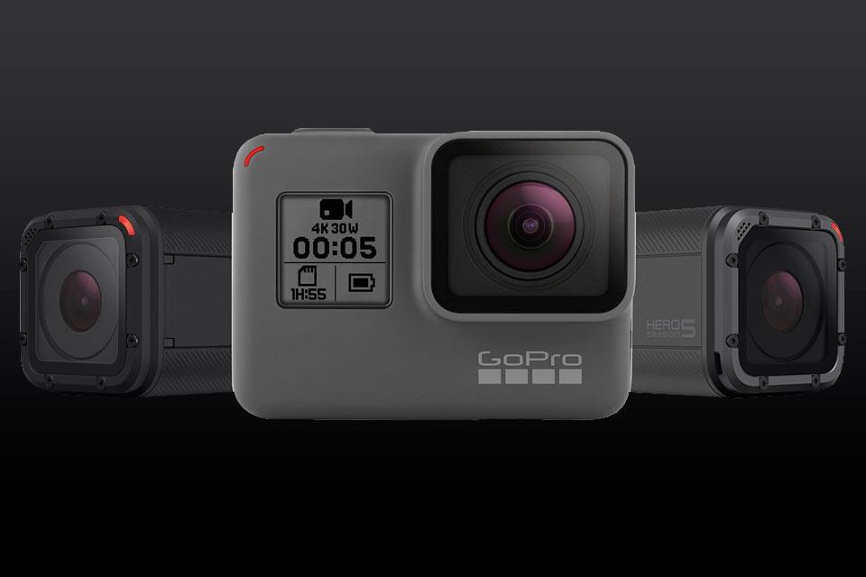 Imagem de Ação, câmera, ação! GoPro lança novas câmeras Hero5 Black e Hero5 Session no tecmundo