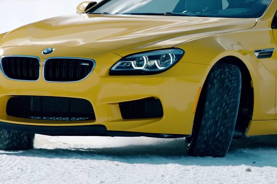Imagem de Desafio: veja um BMW M6 correr a 300 km/h na neve e tente não se empolgar no tecmundo