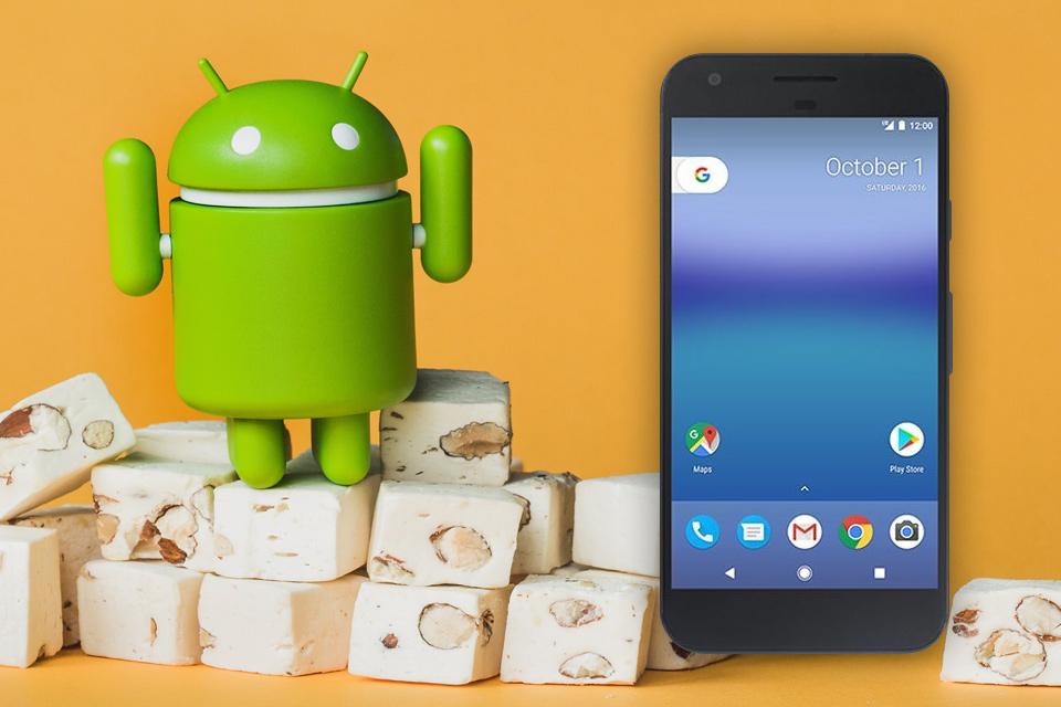 Imagem de Vazou: nova imagem mostra como o é Google Pixel com Android Nougat 7.1 no tecmundo