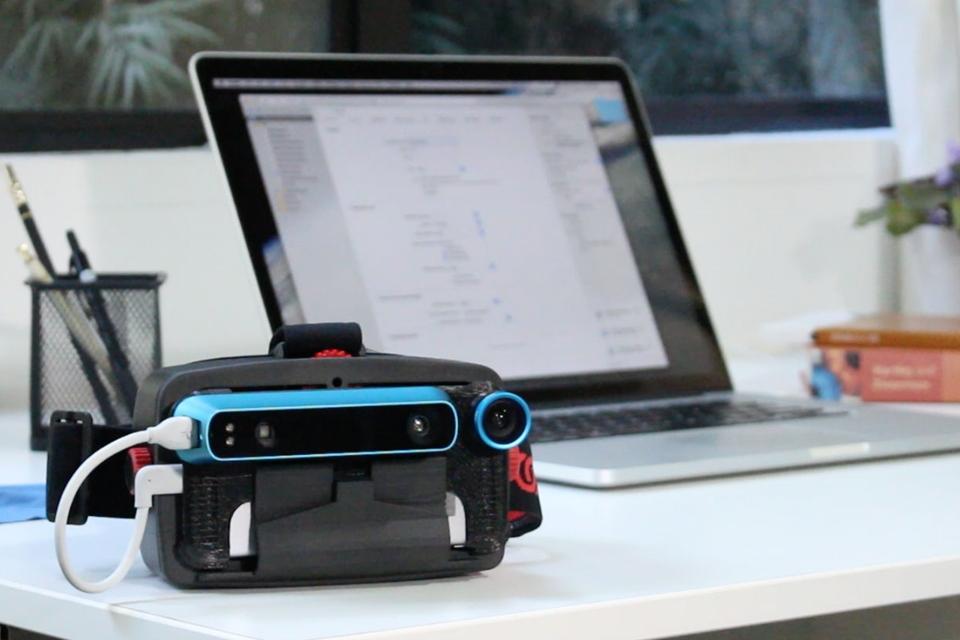 Imagem de Seu iPhone pode virar um headset VR e de realidade misturada por R$ 1,6 mil no tecmundo