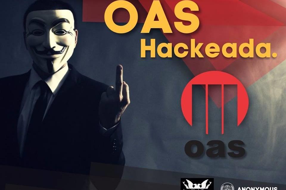 Imagem de Anonymous hackeia OAS, investigada na Operação Lava-Jato no tecmundo
