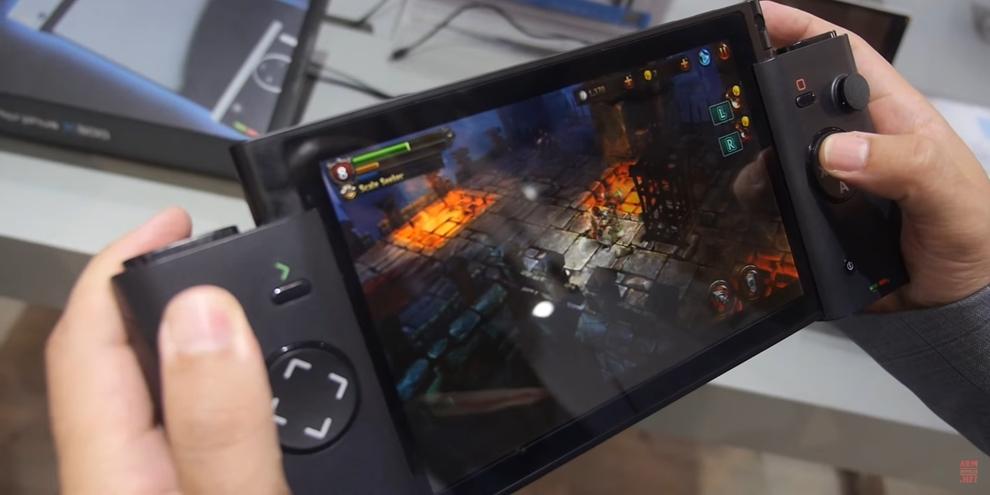 Imagem de 'Switch' chinês com tela tridimensional do 3DS foi lançado no ano passado no tecmundo