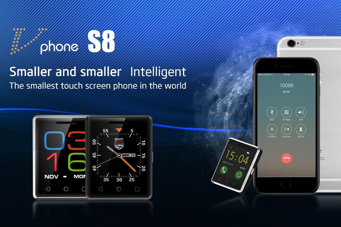 Imagem de Conheça o (provavelmente) menor smartphone com touchscreen do mundo no tecmundo