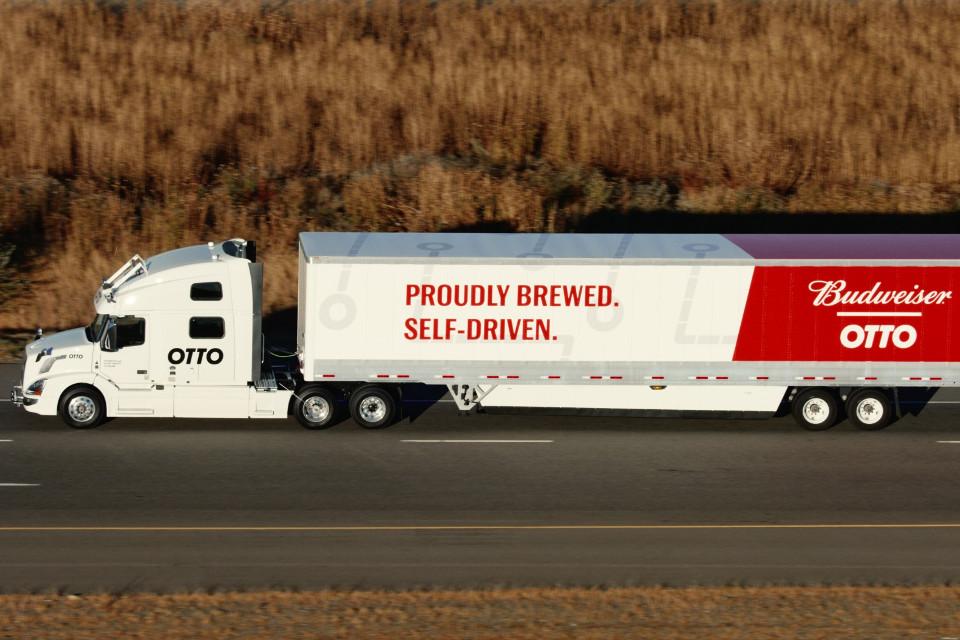 Imagem de Caminhão autônomo da Uber completa primeira entrega comercial no tecmundo