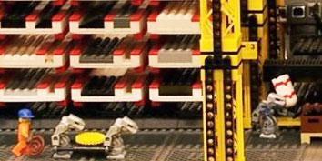 Imagem de LEGO Factory: uma fábrica de blocos de montar feita com blocos de montar no site TecMundo