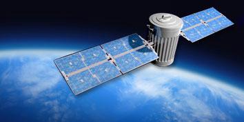 Imagem de NASA estuda a utilização de lasers para diminuir lixo espacial no site TecMundo