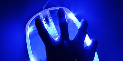 Imagem de Brando lança mouse para pessoas com mãos realmente grandes no site TecMundo