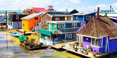 Imagem de Seu novo endereço: uma casa flutuante no meio do mar no site TecMundo