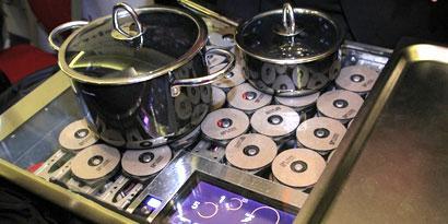 Imagem de Fogão high-tech usa indução magnética para aquecer alimentos no site TecMundo