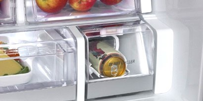 Imagem de Gelaaaaada! Novo refrigerador da LG gela bebidas em 5 minutos no site TecMundo