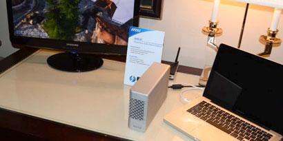 Imagem de MSI lança placa de vídeo externa para quem quer upgrade rápido no site TecMundo