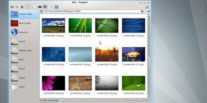 Imagem de Disponibilizada versão 4.8 do KDE no site TecMundo