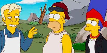Imagem de Julian Assange, do Wikileaks, estrela episódio de Os Simpsons no site TecMundo