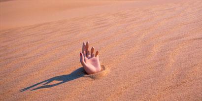 Imagem de Tudo o que você precisa saber sobre areia movediça - e como sobreviver a ela no site TecMundo
